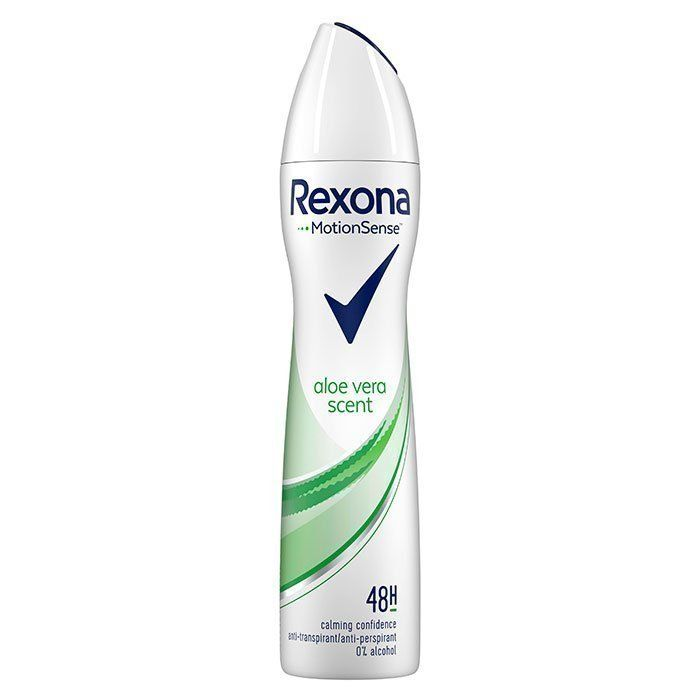 rexona spray aloe