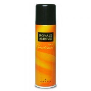 royale ambree desodorante spray