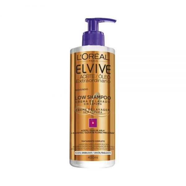 L Oreal Paris Cabello Elvive Aceite Extraordinario Low Shampoo 000 3600523204052 Front