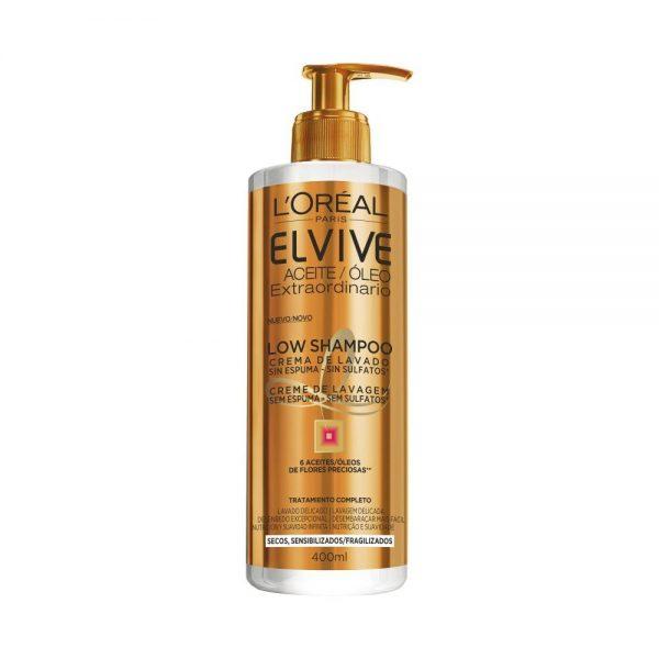L Oreal Paris Cabello Elvive Aceite Extraordinario Low Shampoo Pelo Seco Sensible 000 3600523328932 Front