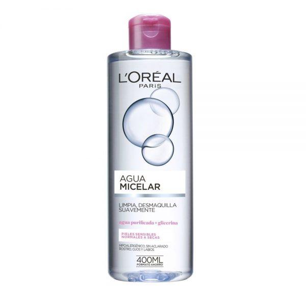 L Oreal Paris Cleanser Agua micelar bifasica piel sensible 000 3600523330133 Front