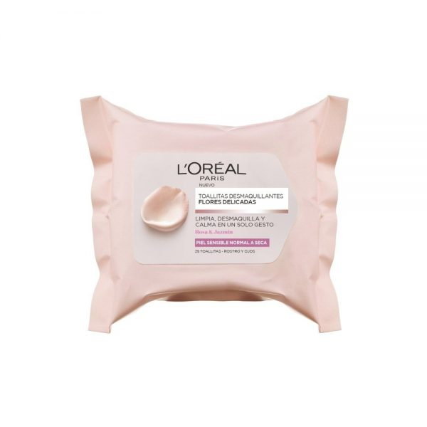 L Oreal Paris Cleanser Leche limpieza Piel Sensible Flores Delicadas 000 3600523458011 Front