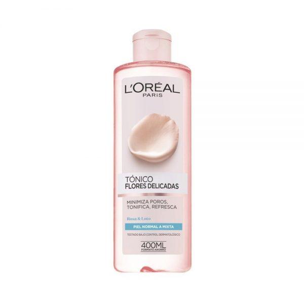 L Oreal Paris Cleanser Tonico piel normal mixta Flores delicadas 000 3600523440009 Front