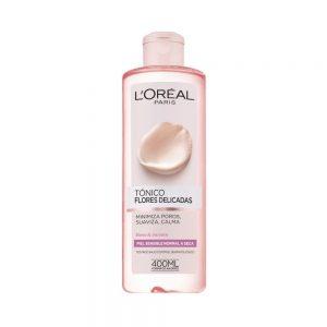 L Oreal Paris Cleanser Tonico piel normal seca Flores Delicadas 000 3600523440016 Front