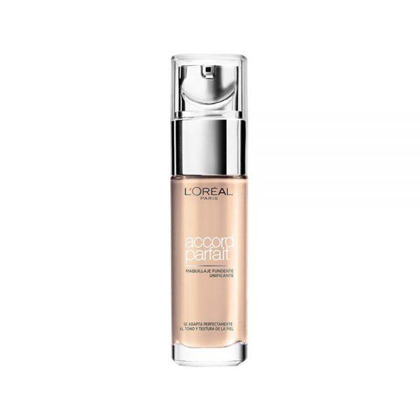 L Oreal Paris Foundation Maquillaje Accord Parfait 000 3600523016600 Front