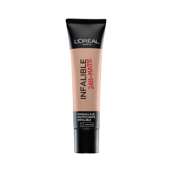 L Oreal Paris Foundation Maquillaje Infalible Mate 24H 000 0000030116610 Front