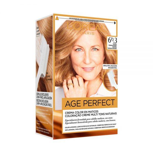 L Oreal Paris Hair Age Perfect Casta o clarisimo dorado 000 3600523227433 Front