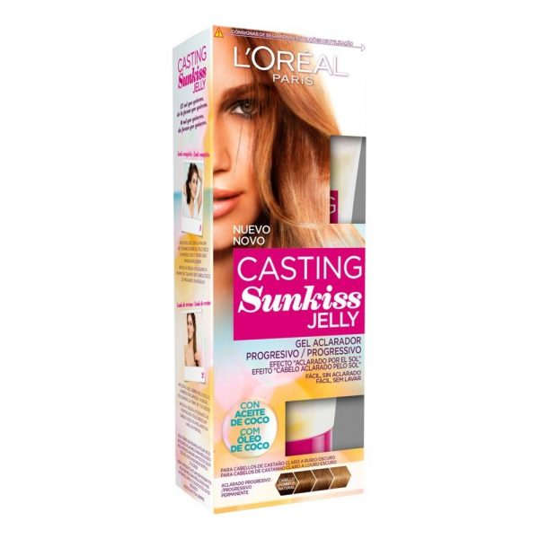 L Oreal Paris Hair Casting Sunkiss Jelly Gel Aclarador 000 3600522716174 Front