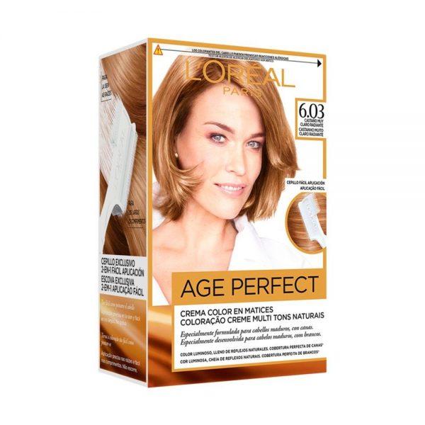 L Oreal Paris Hair Coloracion Age Perfect Casta o muy Claro Radiante 000 3600522865438 Front