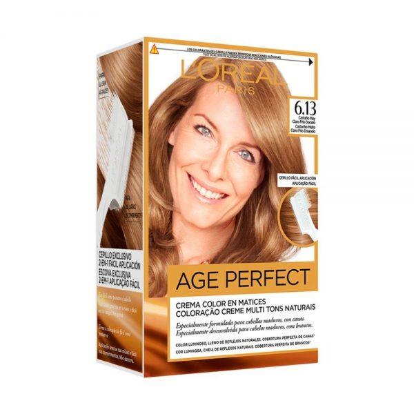 L Oreal Paris Hair Coloracion Age Perfect Casta o muy claro frio dorado 000 3600523227419 Front