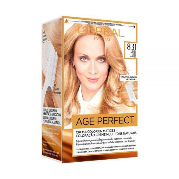 L Oreal Paris Hair Coloracion Age Perfect Rubio Dorado 000 3600522865391 Front