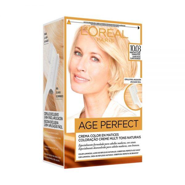 L Oreal Paris Hair Coloracion Age Perfect Rubio Muy Caro Dorado Sutil 000 3600522865353 Front