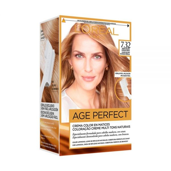 L Oreal Paris Hair Coloracion Age Perfect Rubio Oscuro Dorado Perla 000 3600522865421 Front