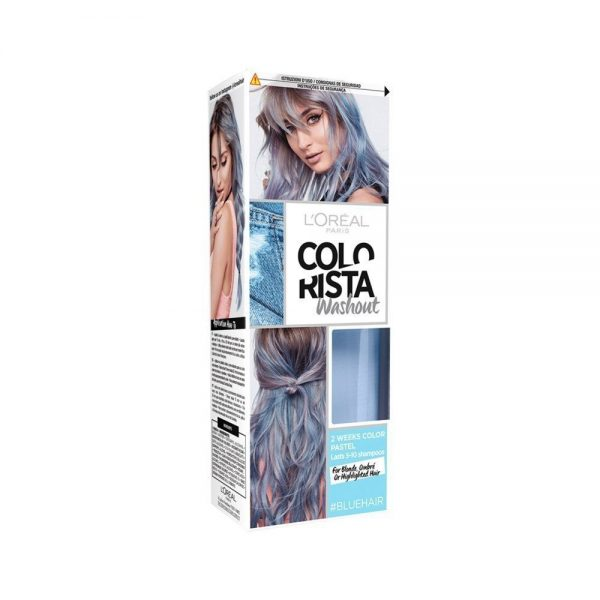 L Oreal Paris Hair Colorista Washout Blue Hair 000 3600523386482 Front