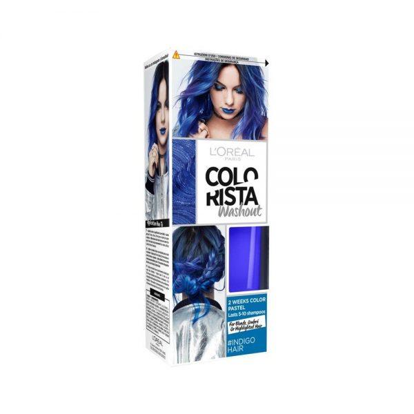 L Oreal Paris Hair Colorista Washout Indigo Hair 000 3600523386475 Front
