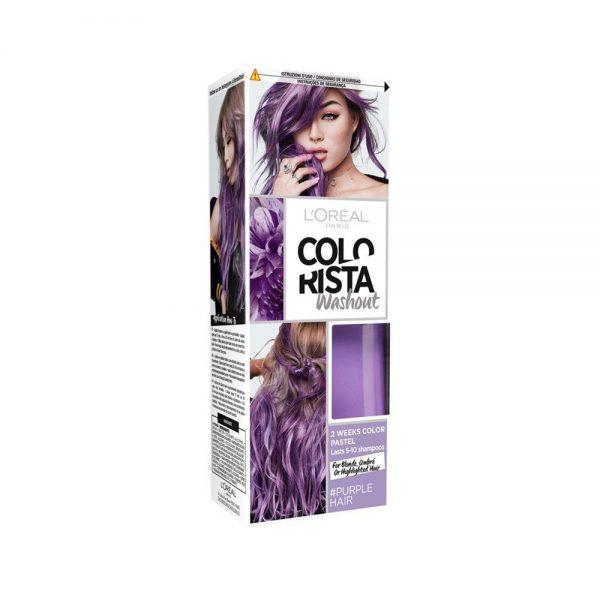 L Oreal Paris Hair Colorista Washout Purple Hair 000 3600523386468 Front