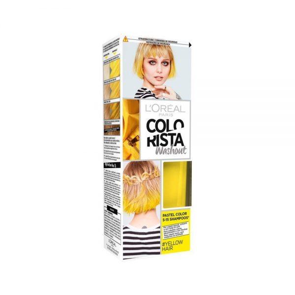 L Oreal Paris Hair Colorista Washout Yellow Hair 000 3600523566082 Front