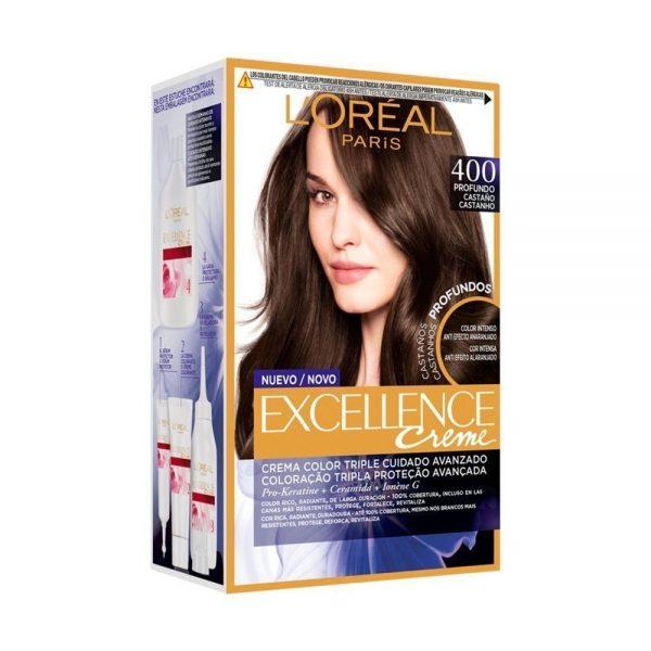 L Oreal Paris Hair Excellence Creme Casta o 000 3600523573387 Front