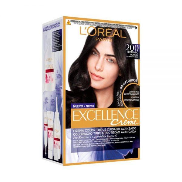 L Oreal Paris Hair Excellence Creme Moreno Profundo 000 3600523573363 Front