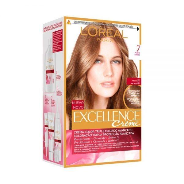 L Oreal Paris Hair Excellence Creme Rubio 000 8411300565069 Front