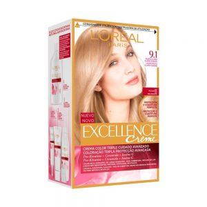 L Oreal Paris Hair Excellence Creme Rubio Claro Claro Ceniza 000 8411300565168 Front