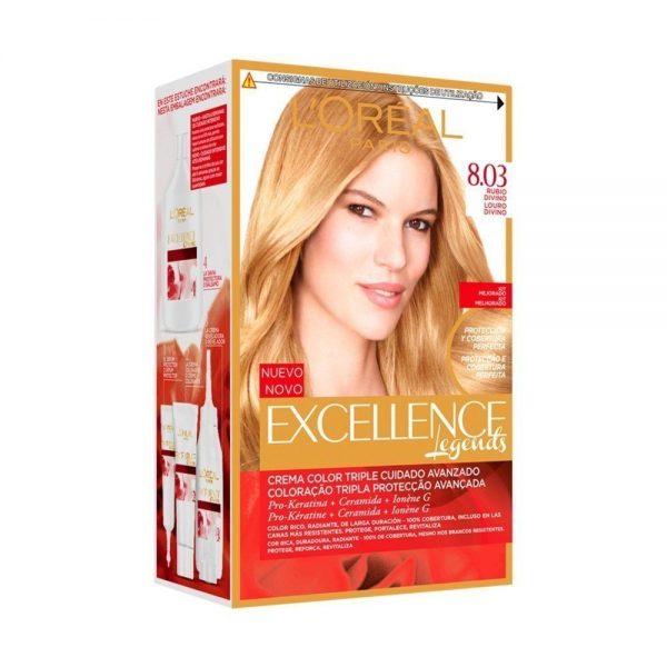 L Oreal Paris Hair Excellence Creme Rubio Divino 000 3600522738435 Front