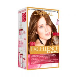 L Oreal Paris Hair Excellence Creme Rubio Oscuro 000 8411300565052 Front