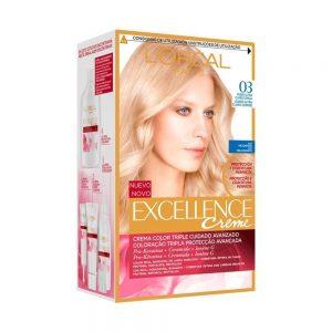 L Oreal Paris Hair Excellence Creme Rubio Ultra Claro Ceniza 000 8411300007477 Front