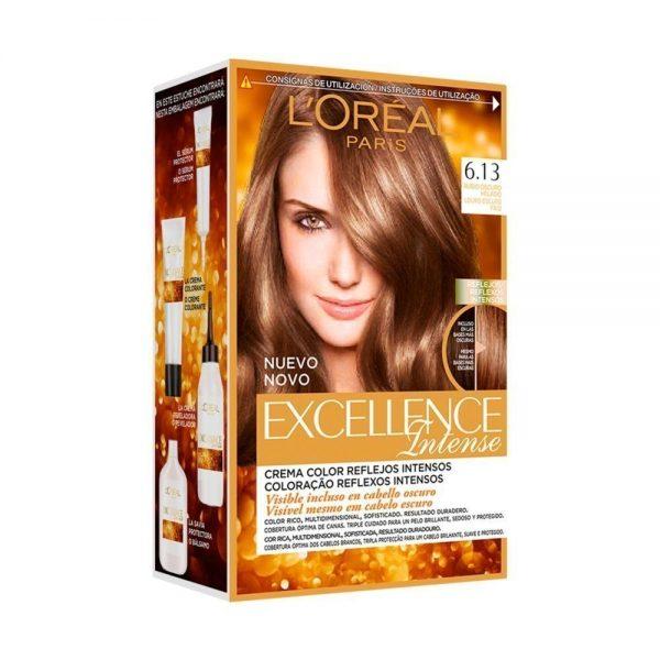 L Oreal Paris Hair Excellence Intense Rubio Oscuro Helado 000 3600522822127 Front