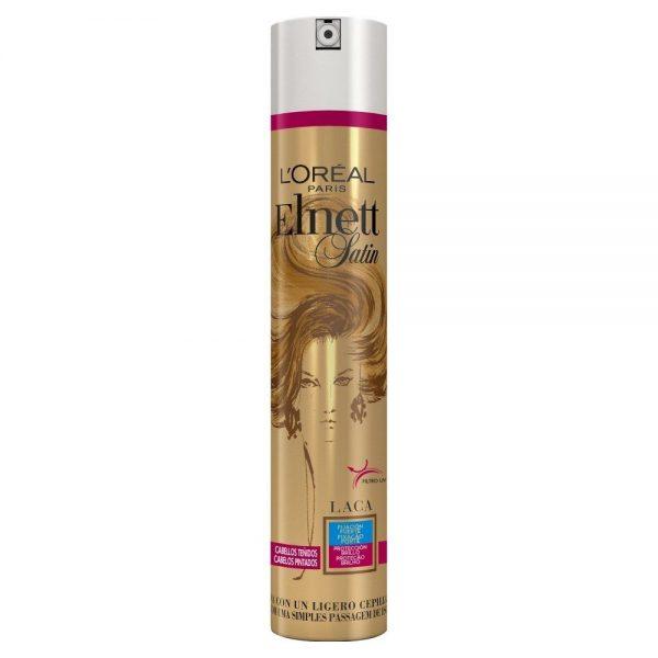L Oreal Paris Hair Spray Laca Elnett Fijacion Fuerte Cabellos Te idos 000 8411300045004 Front
