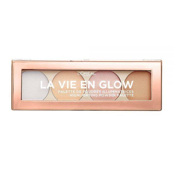 L Oreal Paris Powder Iluminador La Vie en Rose 000 3600523571864 Front