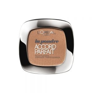 L'OREAL ACCORD PERFECT MAQUILLAJE COMPACTO D6 MIEL   –