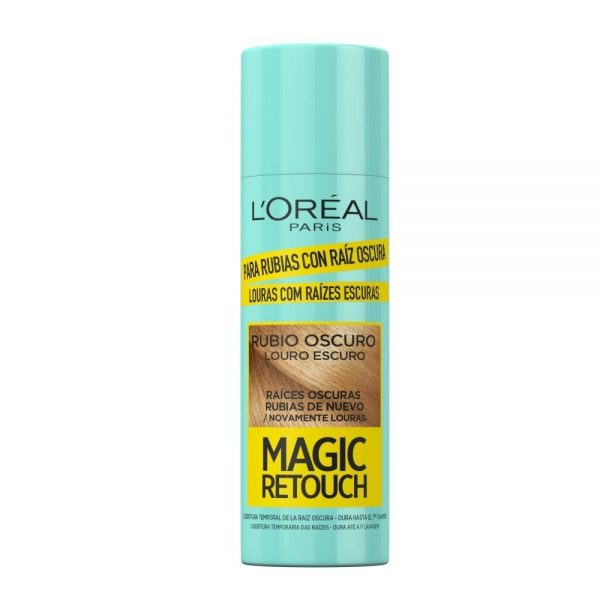 L Oreal Paris Spray MAGIC RETOUCH DARK ROOTS RUBIOOSCURO 000 3600523735532 Front