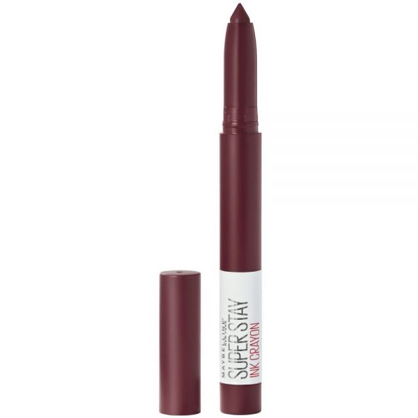 Maybelline New York Barra de labios Mate SuperStay Ink Crayon Settle For More tono 65 000 0000030174146 Front