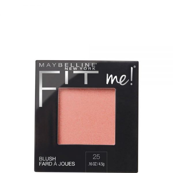 Maybelline New York Blusher Fit Me tono 25 Pink mate todo tipo de pieles 000 3600531537470 Front