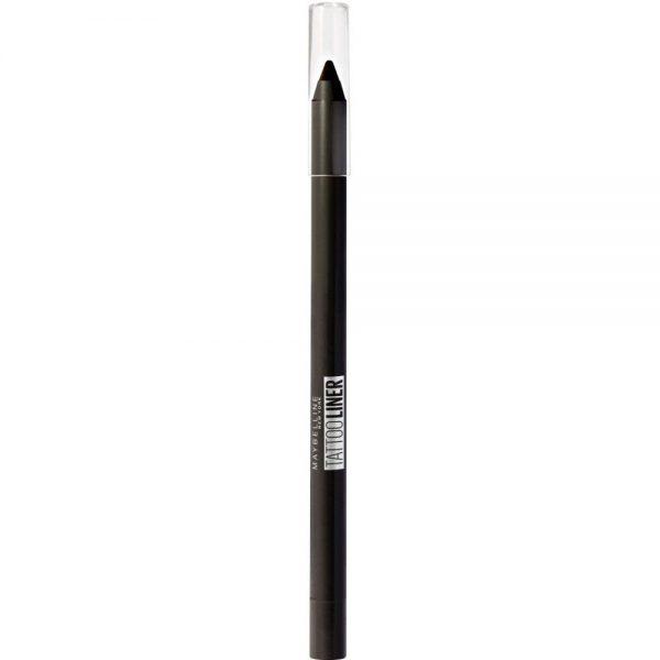 Maybelline New York Eyeliner Liner Lapiz de ojos larga duracion waterproof 900 Deep Onyx negro 000 3600531531065 Front