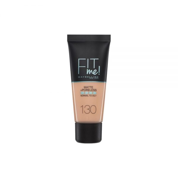 Maybelline New York Foundation Base Maquillaje Fit Me 000 3600531325053 Front
