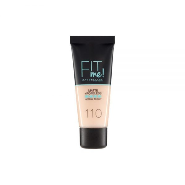 Maybelline New York Foundation Base Maquillaje Fit Me 000 3600531325114 Front