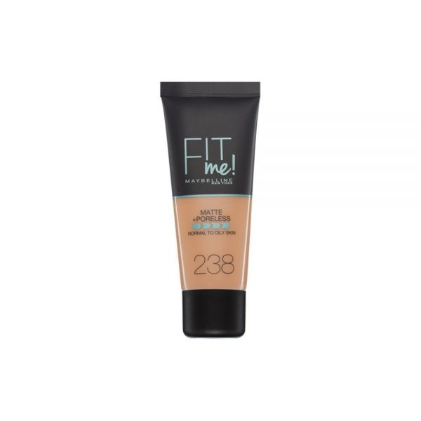 Maybelline New York Foundation Base Maquillaje Fit Me 000 3600531395544 Front