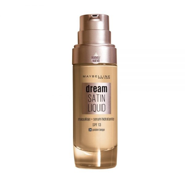 Maybelline New York Foundation Base maquillaje Dream Satin Liquid 000 3600531388072 Front