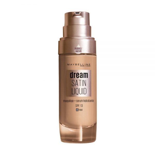 Maybelline New York Foundation Base maquillaje Dream Satin Liquid 000 3600531459185 Front