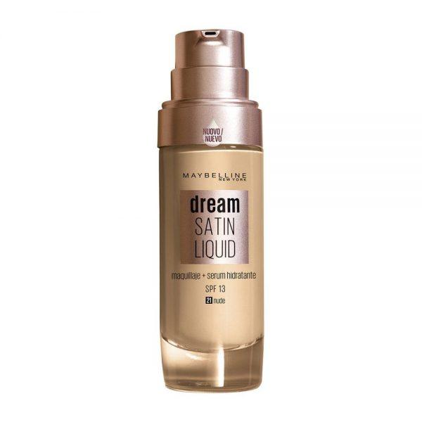 Maybelline New York Foundation Base maquillaje Dream Satin Liquid 000 3600531459192 Front