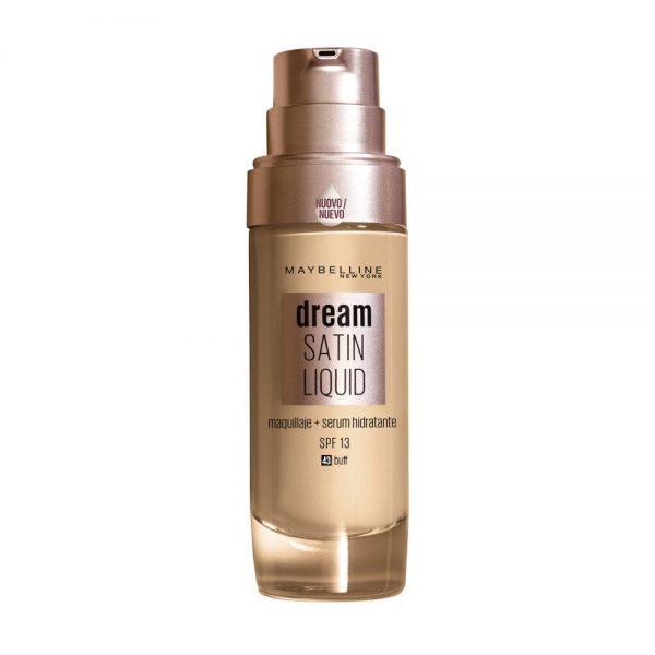 Maybelline New York Foundation Base maquillaje Dream Satin Liquid 000 3600531459215 Front