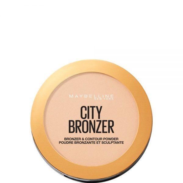 Maybelline New York Polvos City Bronze tono 100 Light Cool Mate pieles claras 8GR 000 3600531528973 Front