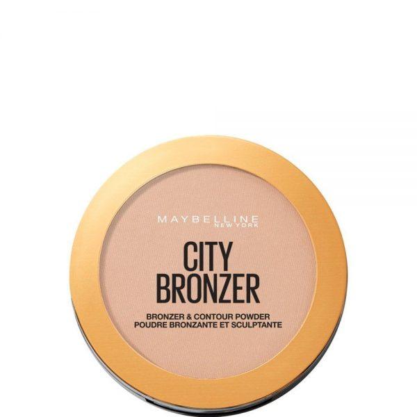 Maybelline New York Polvos City Bronze tono 250 Warm Medium Mate pieles medias 8GR 000 3600531529000 Front