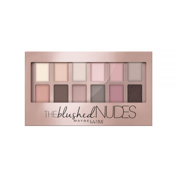 Maybelline New York Sombras Paleta The Blushed Nudes 000 3600531293178 Front