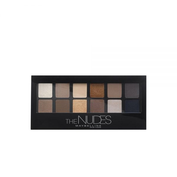 Maybelline New York Sombras Paleta The Nudes 000 3600531199081 Front