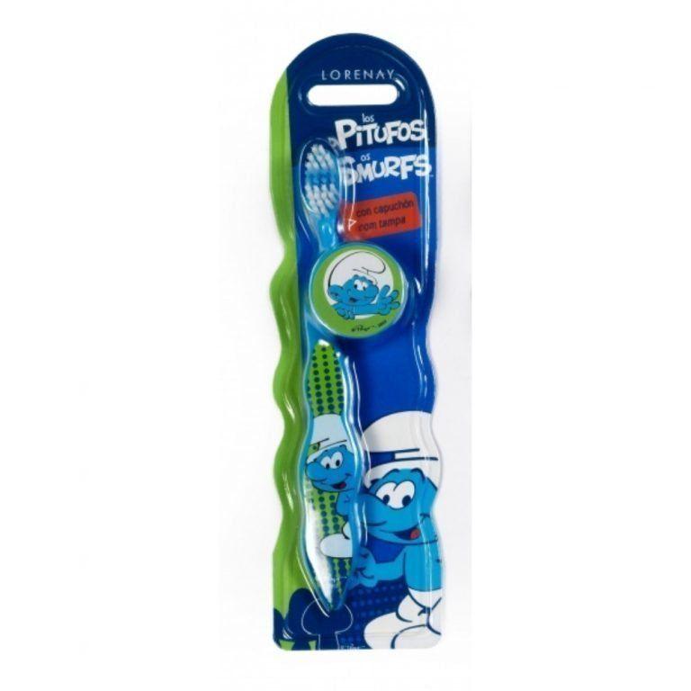 cepillo dental pitufos