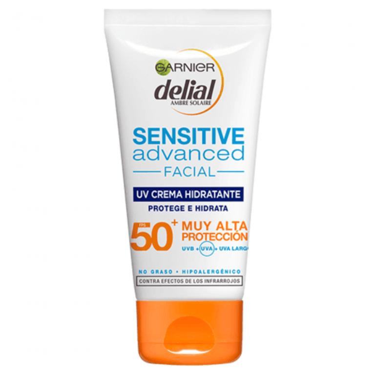 delial facial sensitive advanced fp50 rostro escote