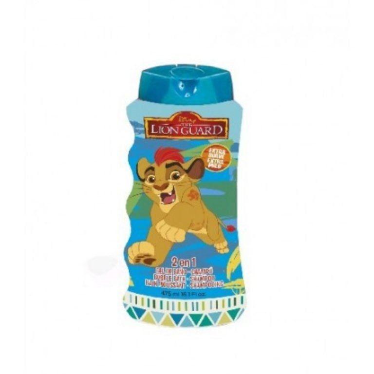 gel de bano y champu lion guard